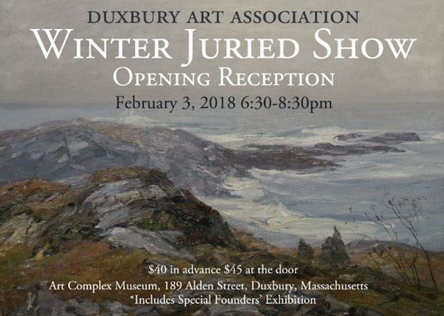Duxbury Art Association, Winter Juried Show