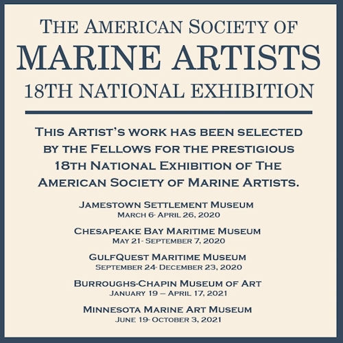 Marine Artists 18th National Exhibition